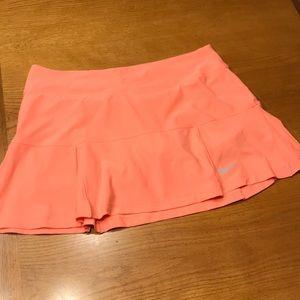Nike Coral tennis skirt, M